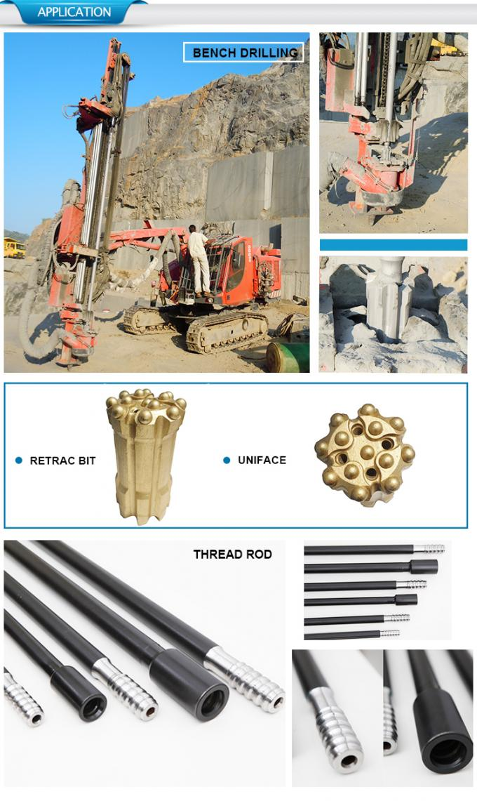 42mm 127mm reaming bit for bigger hole.hole opener