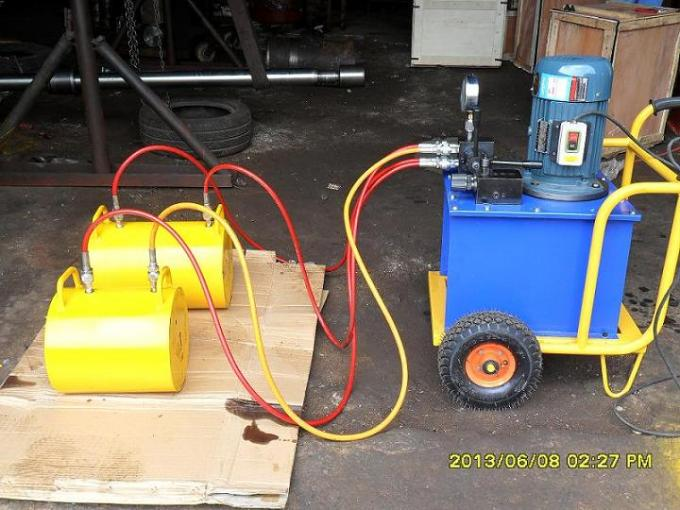 Hydraulic pressure 100T-300T position stroke 200mm hydraulic pushing jack for quarry block splitting
