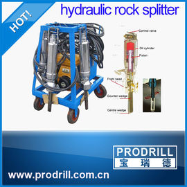 China PD250 PD350 PD450 Similar to Darda Hydraulic rock splitter for mining supplier