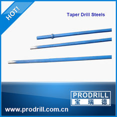 China Tapered Drill Rod for Shank Hexagon: 19 x108 mm, 22x 108mm, 25 x108 mm,  25 mmX159 mm supplier