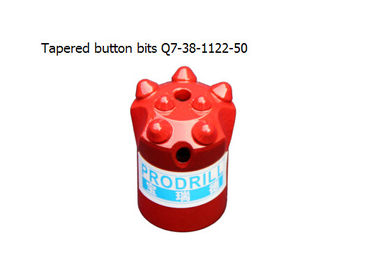 China Tapered button bits Q7-38-11 22-50 supplier