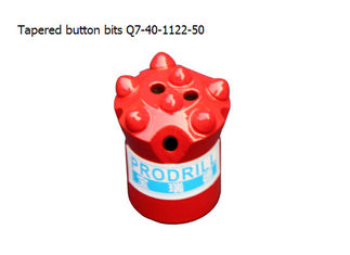 China Tapered button bits Q7-40-11 22-50 supplier