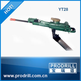 China Yt28 Hand Held Rock Drill for Drilling supplier