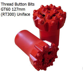 China GT60 127mm(RT300) Uniface Thread Button Bits supplier