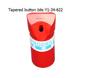 China Tapered button bits Y1-34-622 supplier