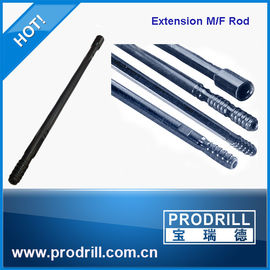 China Extension Drifting Threaded Drill Rod for Mining and Quarry supplier