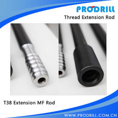 China T38 M/F Thread Round Extension Drill Rods supplier