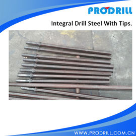 China Integral Drill Steels without tips hex22*108, L1220mm supplier
