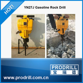 China Yn27j handheld internal combustion rock drill for stone quarrying distributor