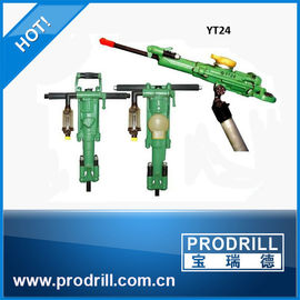 China Yt24 Yt27 Yt28 Yt29A Horizontal Pneumatic Airleg Rock Drill Machine for Civil Project distributor