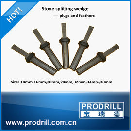 China Hand splitter shims and wedges for rock stone factory