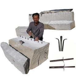 China shims and wedges hand splitter for quarrying factory