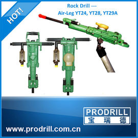 China Y6/Y24/ Ty24c/Y28 /Yt24/ Ty28 Hand Hold Air-Leg Penumatic Rock Drill for quarrying distributor