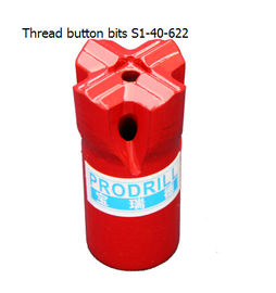 China S1-40-622  Thread Button Bits with good quality distributor