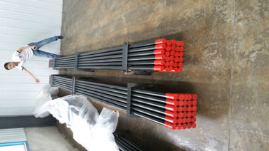 China Threaded drill rod, percussion drill stem, drill pipe for sale distributor