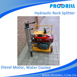 China Diesel Driven Pump with Steel cylinder Hydraulic Rock Splitter factory