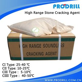 China Stone Splitting and Concrete Construction Demolition Cracking Powder Expansive Mortar C1 C2 C3 distributor
