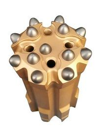 China T51-89mm T6 carbide  threaded button bit retrac and uniface for bench drilling, long hole drilling distributor