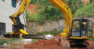 Excavator Mounted Rock Drill