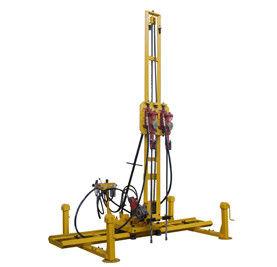 China 1 hammer, 2 hammers or 4 hammers pneumatic mobile rock drills for stone quarry line drilling hole distributor